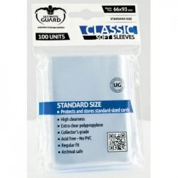 Classic Soft Sleeves Standard Size Transparent (100)