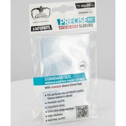 Precise-Fit Sleeves Resealable Standard Size Transparent (100)