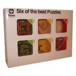 Six of the Best Puzzles - Mensa Pocket Puzzles