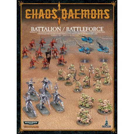 97-07 CHAOS DAEMONS BATTALION/BATTLEFORCE