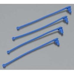 Body clip retainer, blue (4)