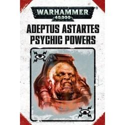 48-95 PSYCHIC POWERS: ADEPTUS ASTARTES