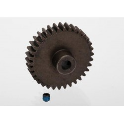 Gear, 34-T pinion (1.0 metric pitch) (fits 5mm shaft)