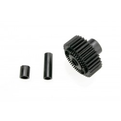 Output gear, 33-tooth (1)/ spacers (2)