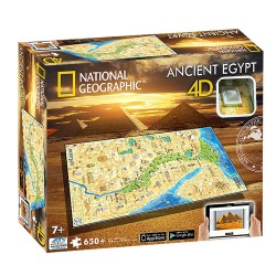 4D Cityscape NG Ancient Egypt Puzzle (650+pcs)