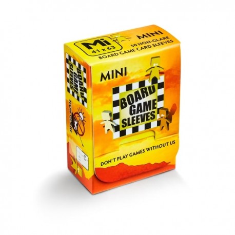 Mini Board Game Sleeves NonGlare 41x63 (50)