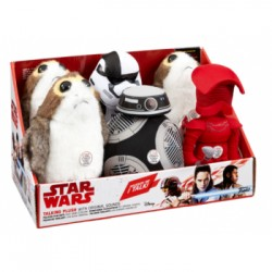 Star Wars: EPVIII Premium Medium Talking Plush Assortment