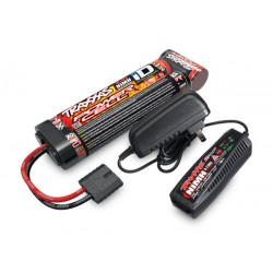 Pack 2-amp NiMH AC charger & 3000mAh 8.4V 7-cell NiMH