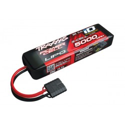5000mAh 11.1v 3-Cell 25C LiPo ID Battery