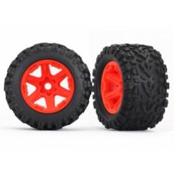 Tires & wheels, assembled, Orange