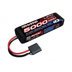 5000mAh 7.4v 2-Cell 25C LiPo ID Battery