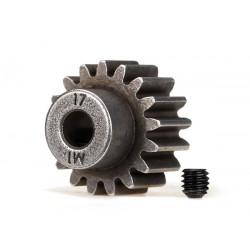 Gear, 17-T pinion (1.0 metric pitch) (fits 5mm shaft)