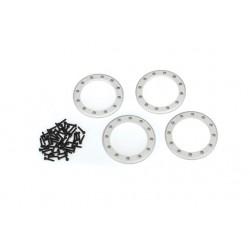 """Beadlock rings, satin (2.2"""") (aluminum)"""
