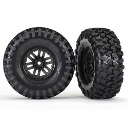 Tires and wheels (TRX-4 wheels, Canyon Trail 1.9 tires) (2)
