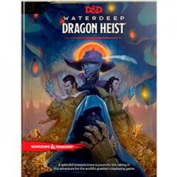 D&D Waterdeep Dragon Heist Book