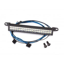 LED light bar, front bumper