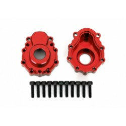 Portal housings, outer, 6061-T6 aluminum Red