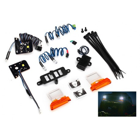 LED light set (contains headlights, tail lights, side marker