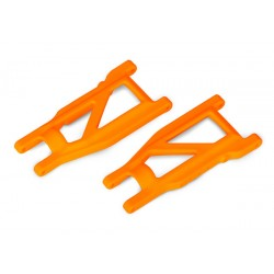Suspension arms, orange, front/rear (left & right)