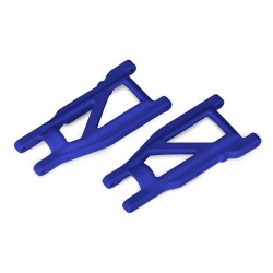 Suspension arms, blue, front/rear (left & right) (2)