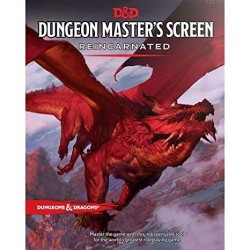 D&D 5th Edition Dungeon Masters Screen Reincarnated