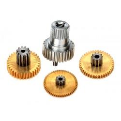 Gear set, metal (for 2080X micro waterproof servo)