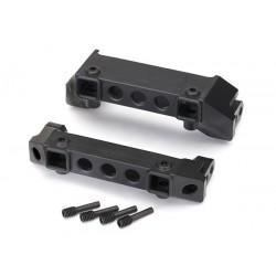 Bumper mounts, front & rear/ screw pins (4)