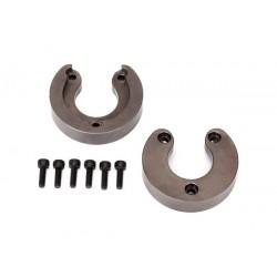 Weight, portal housing, brass (34 grams) (2)/ 2.5x8 CS (6)