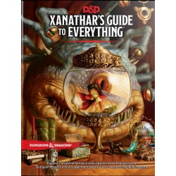 Dungeons & Dragons RPG - Xanathars Guide to Everything