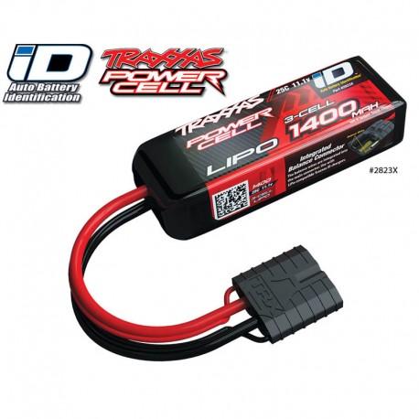 1400mAh 11.1v 3-Cell 25C LiPo ID Battery