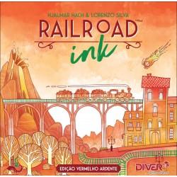 RailRoad Ink: Vermelho Ardente (PT)