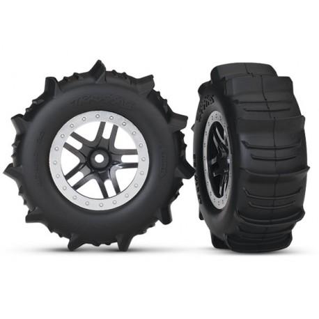 Tires & wheels, SCT Split-Spoke satin chrome