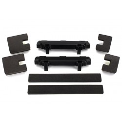 Spacer, battery compartment (2)/ foam blocks (4)/ foam pad )
