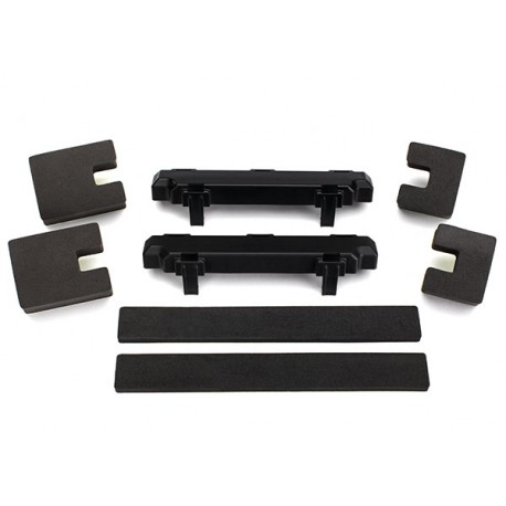 Spacer, battery compartment (2)/ foam blocks (4)/ foam pad )