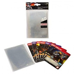 UP - Oversized Clear Top Loading Deck Protector Sleeves (40)