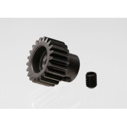 Gear, 21T pinion (48P) / set screw