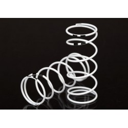 Spring, shock, white (GTR long) (0.767 rate black) (1 pair)