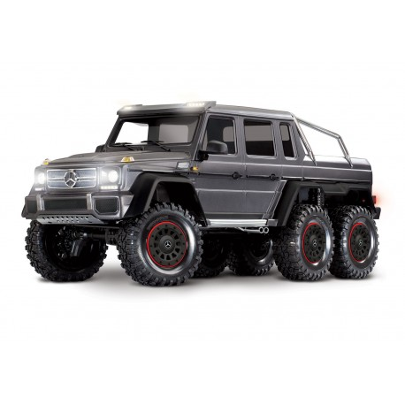 TRX-6 Scale and Trail Crawler Mercedes-Benz G 63 AMG SILVER