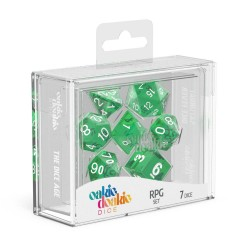 Oakie Doakie Dice RPG Set Translucent - Green