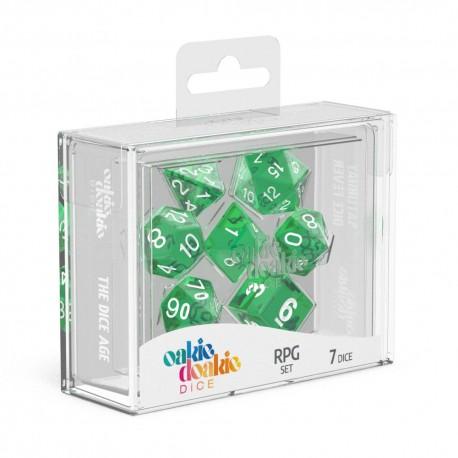 Oakie Doakie Dice RPG Set Translucent - Green