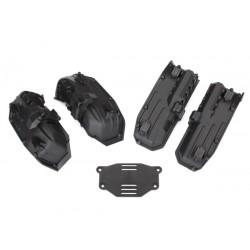 Fenders, inner (narrow), front & rear
