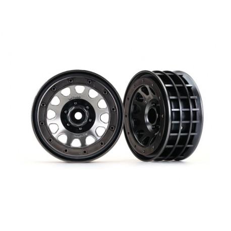 "Wheels, Method 105 2.2"" (black chrome, beadlock)"