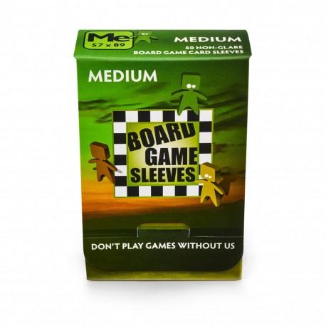 Medium Board Game Sleeves NonGlare 57x89 (50)