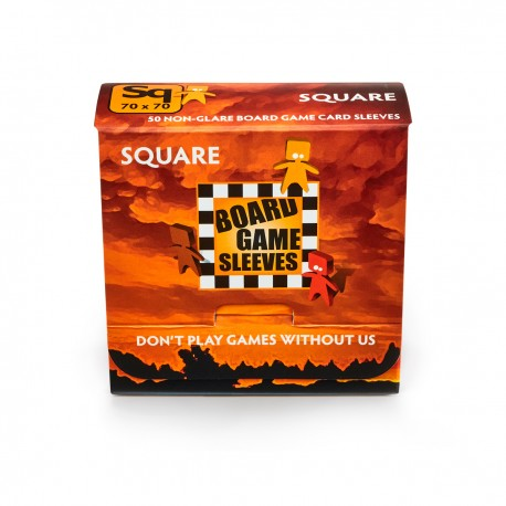 Square Board Game Sleeves NonGlare 70x70 (50)