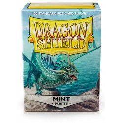 Dragon Shield 100 Standard Size Sideloader Clear Sleeves