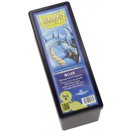 Dragon Shield 4 Compartment Storage Box - Blue