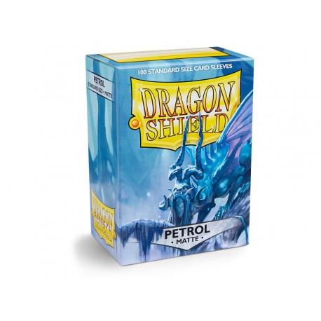 Dragon Shield Sleeves MATTE (100) Petrol
