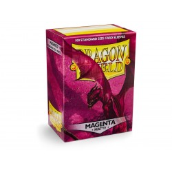 Dragon Shield Sleeves MATTE (100) Magenta
