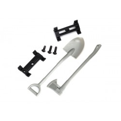 Shovel/ axe/ accessory mount/ mounting hardware