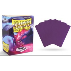 Dragon Shield Sleeves MATTE (100) Purple